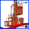 Double Cage Construction Hoist for Construction Material