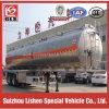 2-Axle 42cbm Aluminum Oil Tank Semi Trailer with 8 Tires