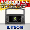 Witson Android 4.4 Car DVD for Mitsubishi Pajero 2006-2011 with A9 Chipset 1080P 8g ROM WiFi 3G Internet DVR Support