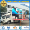 5 Tons Foton Mobile Stage Promotion Vehicle 4X2 LED Advertising Truck