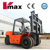 7 toneladas Diesel Engine Powered Pallet Forklift con CE