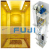 Passenger Elevator Lift with Titanium Gold Stainless Steel