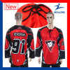 Healong China Wholesale Apparel Sublimation Men′s Ice Hockey Jersey for Sale