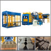 Qt10-15 Full Automatic Hydraulic Press Compressed Earth Brick Machinery