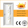 Luxury Exterior Single Leaf Glass Aluminum Door for Bathroom (SC-AAD075)