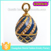 Russian Gold Religious Farbage Easter Egg Charm for Jewelry