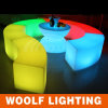 Rechargeable Illuminated Bar Club LED Curved Benches