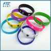 Fashion Rainbow Silicone Wristband for Kids