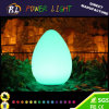 Plastic Illuminated RGB LED Table Lamp for Decoration