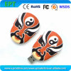 Customized Facial Makeup Shape Memory USB Flash Drive (ET016)