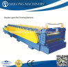 Double Layers Color Steel Glazed Roof Tile Forming Machine