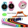 2017 New Design Round Shape Screen Kids GPS Watch (D14)