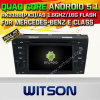 Witson Android 5.1 Car DVD for Mercedes-Benz E Class (A5791)