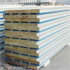 Insulated Fireproof Steel Rock Wool Sandwich Roof Panel