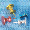 Wholesale Thumbtack Stationery Coloured Plastic Push Pin (QX-P005-C) 10*25mm