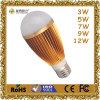 3W 5W 7W 9W 12W CE A60 Die Casting Aluminium LED Bulb Lamp/LED Bulb Light/Lm80 Bulb