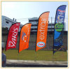 Promotional Festival Feather Beach Flag (3.5m)