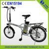 2015 China Popular 20 Inch Lithium Baterry Folding Bike