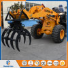 Sugar Cane Loader Wheel Mini Loader with Grasp Fork