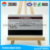 New Product Silver Hico Blank Magnetic Stripe Card with Sle4428 Chip
