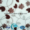 Acid Etched Glass/ Art Glass/Frosted Glass/Decorative Glass with Ce, ISO Sdf050