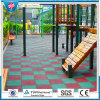 Recycle Rubber Tile/Playground Rubber Tiles/Colorful Rubber Paver