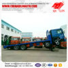 LHD 256HP Low Flatbed Tractor Truck with 10 Tires