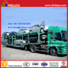 2-Axle-4-Wheel Skeleton Type Car Transport Semi Truck Trailer (8 cars)