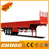 3 Axle Cargo Fence Semi Trailer with Side Wall
