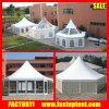 Diameter Dia 6m 8m 10m 12m Transparent Hexagon Pagoda Tent