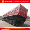 3 Axle 80 Ton Side Tipping Semi-Trailer