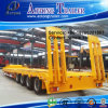 China Best Sale Type 50-100 Tons 3-6 Axles Low Bed Semi Truck Trailer