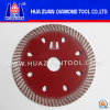 New Dry Cut Grade a Sintered Diamond Blade 105mm Turbo Wave Blade