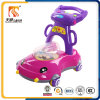 New Model Cartoon Round Baby Walker with 4 Wheels