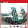 Double Axles Excavator Transporting Lowbed Semi Trailer