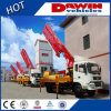 65 Cubic Meter Per Hour 28m 4 Arms Small Concrete Pump Truck with Boom