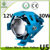 New Laser Gun U5 Motorcycle LED Headlight