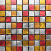 2016 Colorful Square Aluminum Alloy Mosaic for House Decoration