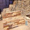 China Natural Yellow Rusty Slate Stone Veneer (SMC-SCP361)