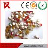 Colored Glass Beads Cat Eyes Road Stud Reflector