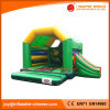 Green Color Inflatable Jumping Combo with Slide (T3-021)