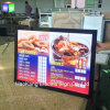 LED Aluminum Photo Frame with Backlit LED Light Box Sign for Restaurant Fast Menu Food