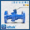 Didtek API 6D Lever Operated Cast 2 Piece WCB Floating Ball Valve