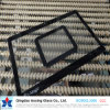 3mm Silkscreen Print Toughened Glass for Building/Construction