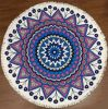 Folk-Custom Style Round Shape Printing Beach Towel
