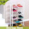 Cheap White Shelf Waterproof Plastic Shoe Rack Stand