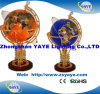 Yaye 18 Hot Sell Ce/ RoHS Lighting Gemstone Globe / Gemstone Globes / World Globes with Lighting