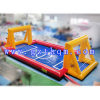 Outdoor Commerical Inflatable Soap Football Field/Football Cricket Field for Sports Games