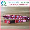 Heat Transferred Volleyball ID Card Ribbon