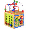 Multi-Functional Chest Baby Infant Children Beaded Wooden Toys for One to Five Years Old